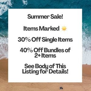 ☀️Huge Mid-Summer Sale On Items Marked With A ☀️